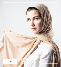 Gilded - Double Stretch Cotton - Shawl