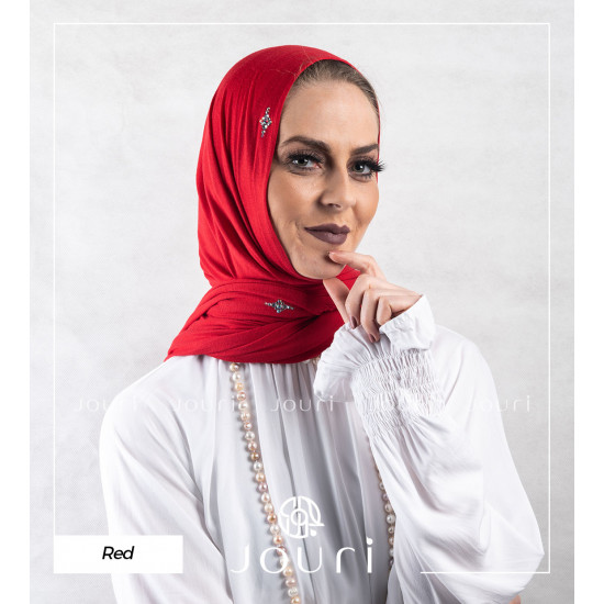 Crystal - Double Stretch Cotton - Cotton Crystal - Hijab