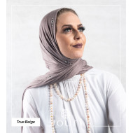 Crystal - Double Stretch Cotton - Hijab - Cotton Crystal