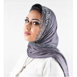 Dantel - Double Stretch Cotton - Shawl